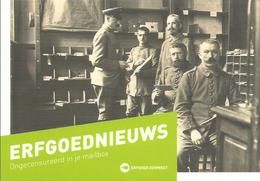 Kortrijk  Erfgoed Post Sorteren Van De Duitse Bezetter - Kortrijk