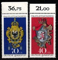 N028- GERMANY 1973 - MI#: 764-765- MNH  CV: 2.10 EUR - [7] Federal Republic