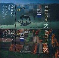 ESLOVENIA 2002 - SLOVENIE - OLIMPIADA DE AJEDREZ - ECHECS - CHESS - YVERT BLOCK Nº 15** - Slovénie