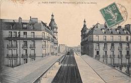 ¤¤  -  PARIS - PASSY   -  Le Métropolitain , Pris De La Rue Albony    -  ¤¤ - Arrondissement: 16