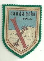 """3286 """" CANDANCHU """" TOPPA-PATCH -SCI- ORIGINALE - Altri"""
