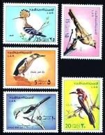 (09) Libya / Lybie / Libia  Birds / Oiseaux / Vögel / Vogels  ** / Mnh  Michel 520-24 - Libyen