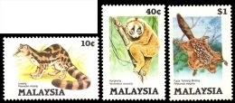 (021) Malaysia / Malaisie  Animals / Animaux / Tiere / Dieren / 1985  ** / Mnh  Michel 299-301 - Vrac (max 999 Timbres)