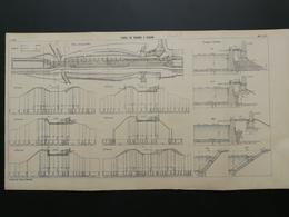 4ANNALES DES PONTS Et CHAUSSEES (DEP 71) - Canal De Roanne A Digoin - 1904 (CLC78) - Cartes Marines