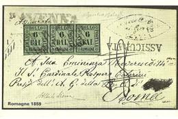 """3287 """"ROMAGNE 1859 """" SERIE I-IL COLLEZIONISTA/ITALIA FILATELICA-CART. POS. ORIG. NON SPEDITA - Francobolli (rappresentazioni)"""