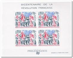 Frans Antarctica 1989, Postfris MNH, 200th Anniversary Of The French Revolution - Franse Zuidelijke En Antarctische Gebieden (TAAF)