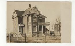 BURGESSVILLE, Ontario, Canada, Methodist Parsonage, Old RPPC, Oxford County - Ontario