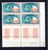 GABON PA N° 31 BLOC DE QUATRE   NEUF SANS CHARNIERE COTE 7.20€  COOPERATION INTERNATIONALE - Gabon (1960-...)