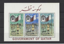 QATAR.  YT  Bloc  N° 1  Neuf **  1965 - Qatar