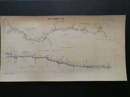 4ANNALES DES PONTS Et CHAUSSEES - Canal De Dortmund A L'ems - 1904 (CLC79) - Cartes Marines