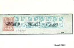 """3290 """" NAPOLI 1860 """" SERIE I-IL COLLEZIONISTA/ITALIA FILATELICA-CART. POS. ORIG. NON SPEDITA - Francobolli (rappresentazioni)"""