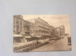 Knocke Avenue Lippens Et Hotel Continental - Cartes Postales