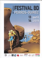 Affichette DANY Festival BD Perros-Guirec 2019 (Olivier Rameau) - Affiches & Offsets