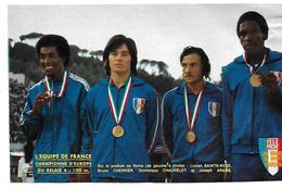 SAINTE ROSE - CHERRIER - CHAUVELOT - ARAME - Athlétisme