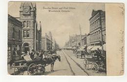 WOODSTOCK, Ontario, Canada, Dundas Street & Post Office, 190? UB Postcard, Oxford County - Ontario