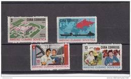 Cuba Nº 1036 Al 1039 - Cuba