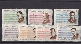 Cuba Nº 1040 Al 1046 - Cuba