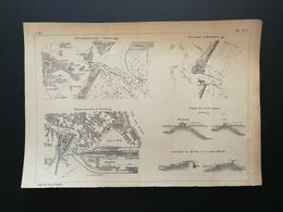4ANNALES DES PONTS Et CHAUSSEES - Station Maritime De Venise - 1906 (CLC81) - Zeekaarten
