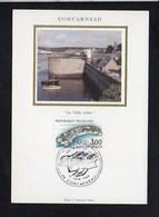 """29 Concarneau / FDC Carte Maximum Premier Jour """" La Ville Close """" / Cachet Concarneau 1983 - Concarneau"""