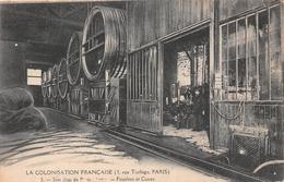 ¤¤  - PARIS   -  La Colonisation Française  -  3 Rue Turbigo  -  Son Chai De Paris-Bercy  -  Foudres Et Caves   -  ¤¤ - Arrondissement: 03