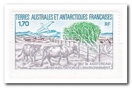 Frans Antarctica 1990, Postfris MNH, Environmental Protection Measures On The Island Amsterdam - Franse Zuidelijke En Antarctische Gebieden (TAAF)