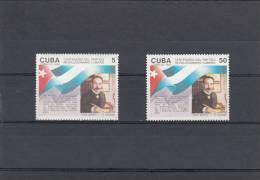 Cuba Nº 3205 Al 3206 - Cuba