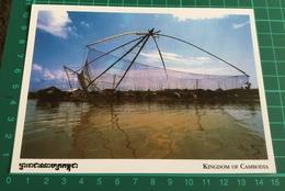 Kingdom Of Cambodia ~ Khmer Fisherman - Cambodia