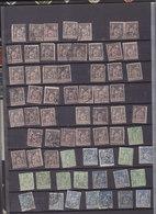 Sages 400 Timbres 5c 15c 25c 30c  à Trier - Poststempel (Einzelmarken)