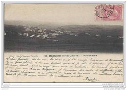 GRIBOMONT ..-- Panorama .1905 Vers PARIS ( Melle Louise LAMBERMONT ) . Voir Verso . - Herbeumont
