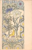 Illustrateur CRIOM. - Bleuet Et Marguerite- Style Art Déco 1900 - Autres Illustrateurs