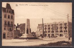 6 Knock S/Mer  Le Monument Aux Morts Pour La Patrie - Knokke