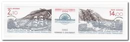 Frans Antarctica 1986, Postfris MNH, 50th Anniversary Of The Death Of Jean Charcot, Ship - Ongebruikt