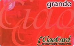 *ITALIA* - CIAO CARD - Scheda NUOVA (MINT) - [2] Handy-, Prepaid- Und Aufladkarten