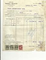 CASTELLANZA  FRATELLI  BIANCHI  MOLINI  1948   X LUINO - Italia