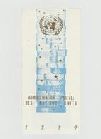 Carte De Voeux ONU, United Nations, 1993 - Office De Genève