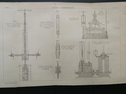4ANNALES DES PONTS Et CHAUSSEES - Acide Carbonique - 1894 (CLC84) - Travaux Publics