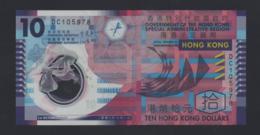 Hong Kong - 10 Dollars (circolata Poco) - Cina