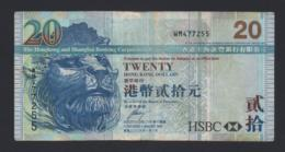 Hong Kong - 20 Dollars 2009 - Circolata - China