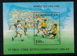 Azerbaïdjan 1994 // Football,coupe Du Monde 1994 , Bloc-feuillet Neuf** - World Cup