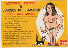 Humour :  Femme 35 - 45 Ans , L Argus De  L '  Amour , Chat Minet! - Humor