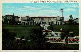 Buster Keaton's Italian Villa, Beverly Hills, California - Los Angeles