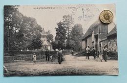 Blavincourt, L' Eglise, France, 1912 - Nord-Pas-de-Calais
