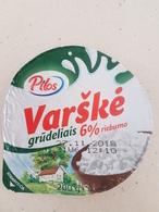 Lithuania Litauen Curd Top - Milk Tops (Milk Lids)