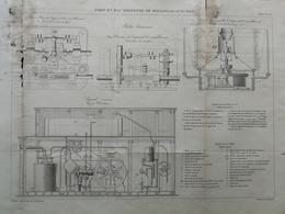 4ANNALES DES PONTS Et CHAUSSEES (DEP 62) - Port En Eau Profonde De Boulogne-sur-mer - Gravé Par Macquet 1893 (CLC86) - Travaux Publics