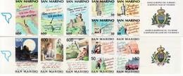 1990/92 - SAN MARINO N° 2 LIBRETTI TURISMO NUOVI** VEDI+++++ - Libretti