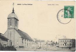 ORMOY La Place Publique - Autres Communes