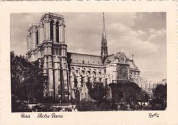 CPA 75 @ PARIS NOTRE DAME - CATHEDRALE Batie Aux XII° Et XIII°Siècle Pendant Plus De 200 Ans De Louis VII à Charles VII - Notre Dame De Paris