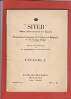 SITEB SALON INTERNATIONAL DU TIMBRE 1935   184 Pages Trilingue - Expositions Philatéliques