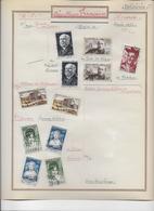 France Oblitérés Collection 1950/1959 - 34 Scans - France
