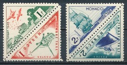 °°° MONACO - Y&T N°39A/B/40/41 TAXE - 1953 MNH °°° - Monaco
